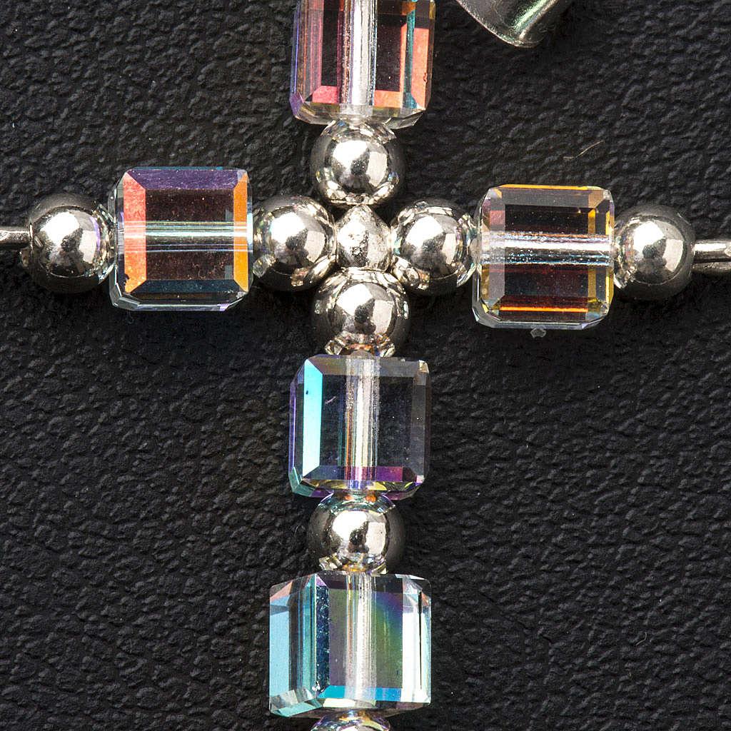 Croce Swarovski cubo 4