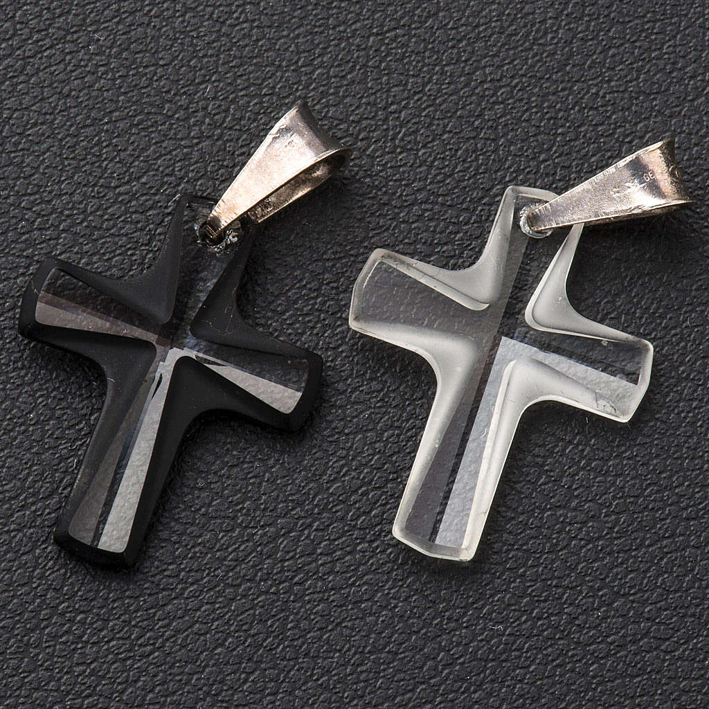 Cruz cristal 2x1,5cm 4