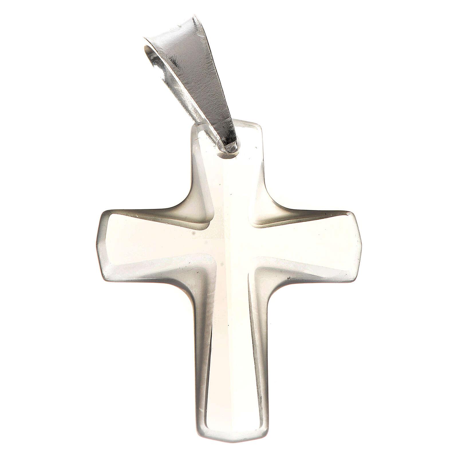 Croce cristallo 2x1,5 cm 4