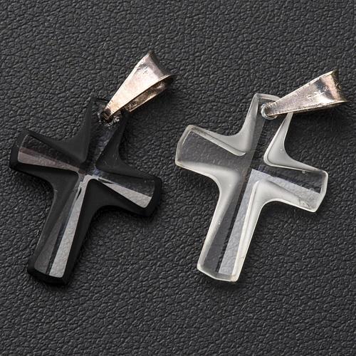 Croce cristallo 2x1,5 cm 3