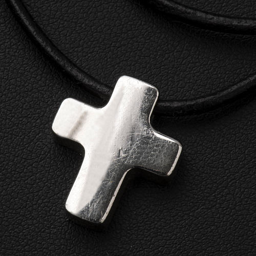 Pendant cross, classic with necklace 5