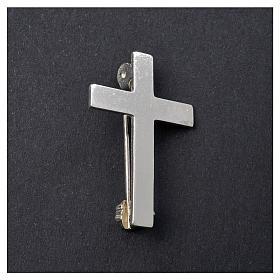 Croce Clergyman argento 800 s5