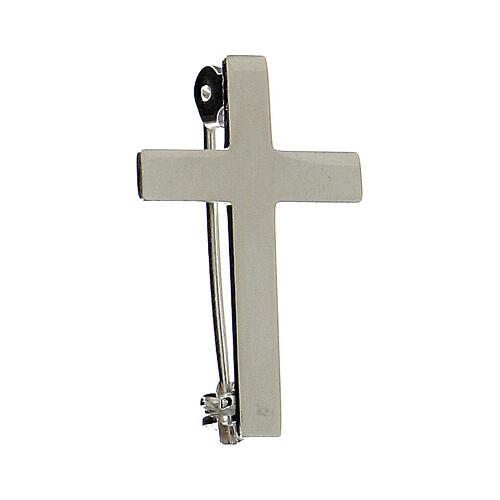 Croce Clergyman argento 925 2