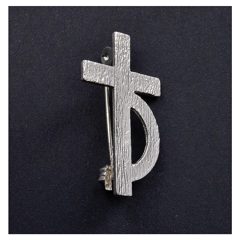 Broche pour diacre argent 925 4