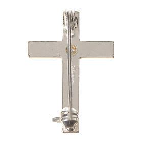 Croix clergyman zircon argent 800 s3