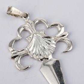 Santiago de Compostela Cross in shiny silver 925 s3