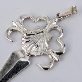 Santiago de Compostela Cross in shiny silver 925 s2