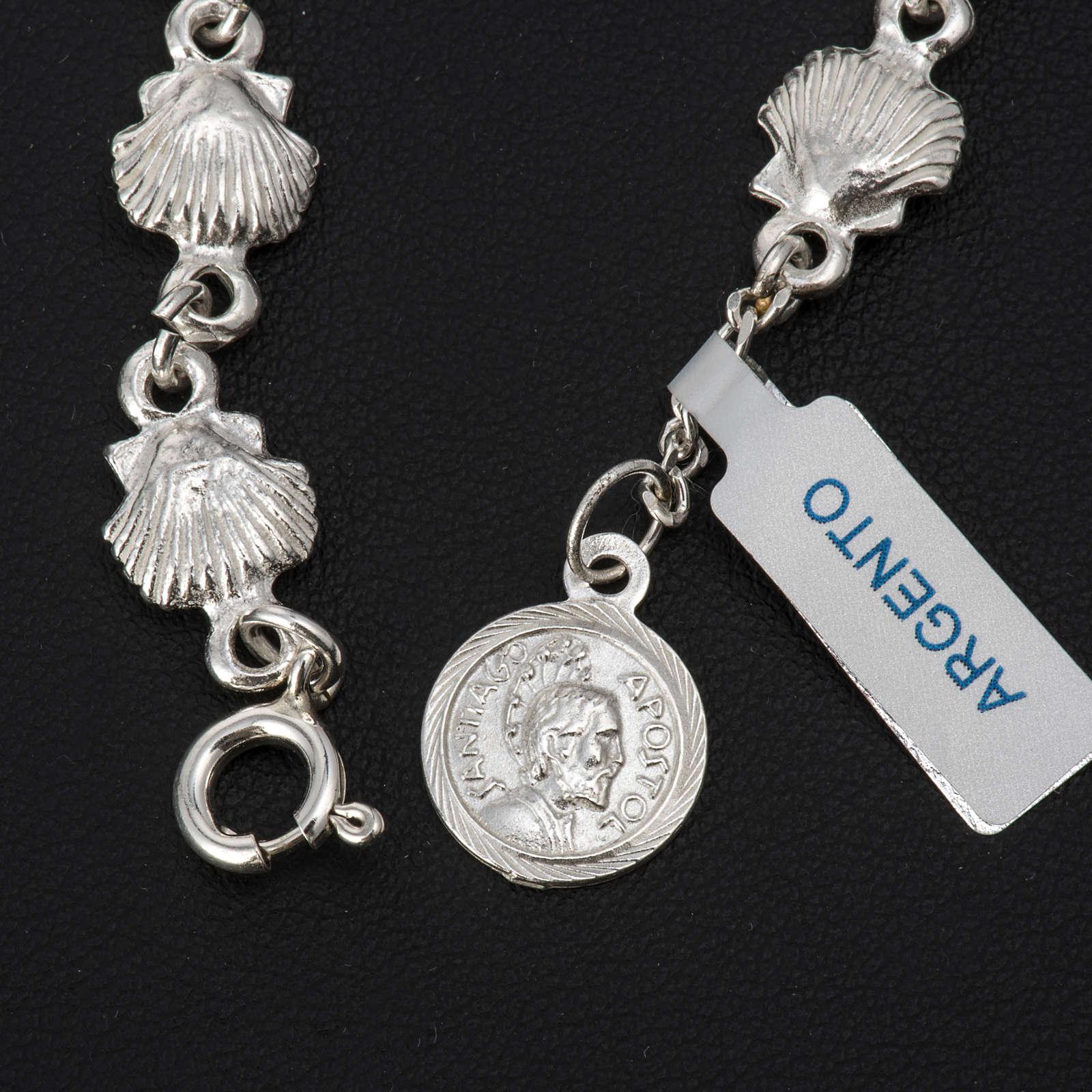Pulsera Santiago de Compostela plata 925 4