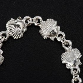 Bracelet St Jacques de Compostelle argent 925 s5