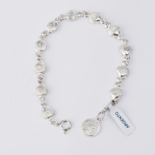 Bracelet St Jacques de Compostelle argent 925 1