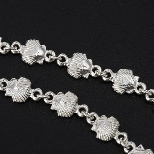 Bracelet St Jacques de Compostelle argent 925 2