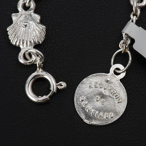 Bracelet St Jacques de Compostelle argent 925 4