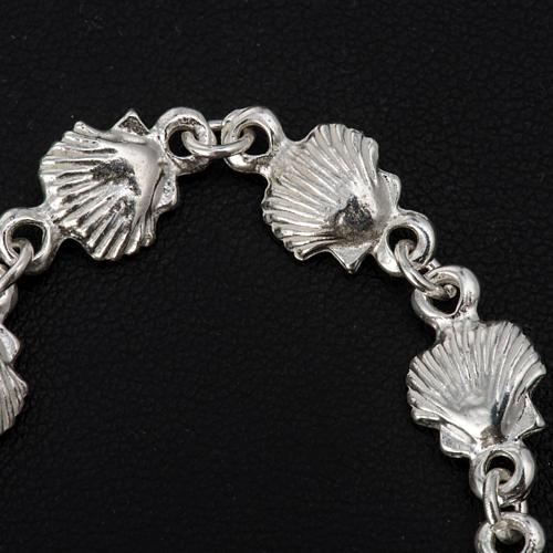 Bracelet St Jacques de Compostelle argent 925 5