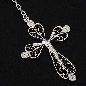 Rosary beads filigree in 800 silver 0,24in s3