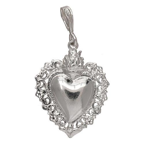Anhänger Herz Ex-Voto Silber 925 1