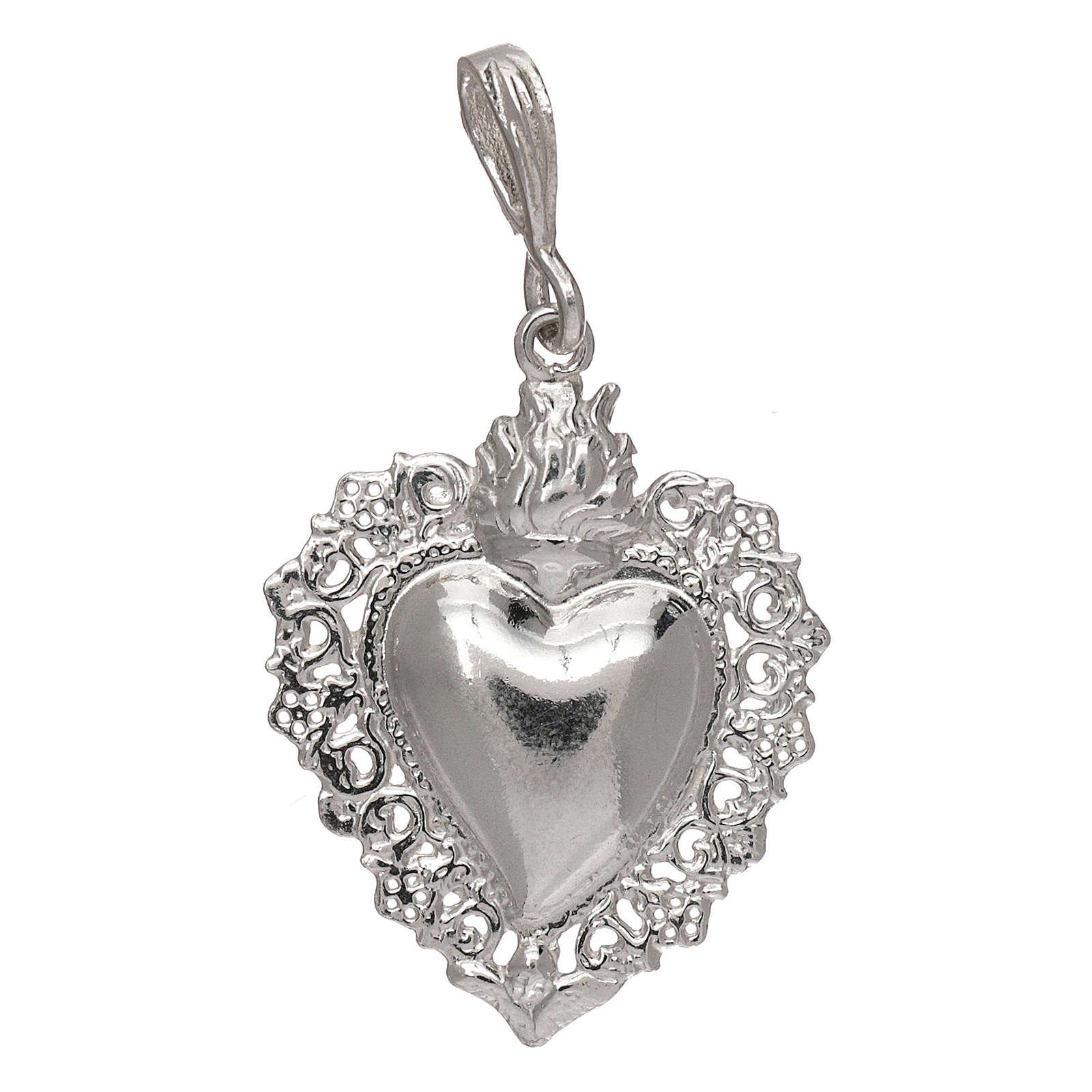 Pendant Hearth Ex-Voto Silver 925 4