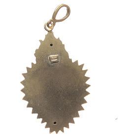 Pendentif coeur votif argent 800 doré. Ce coeur s2