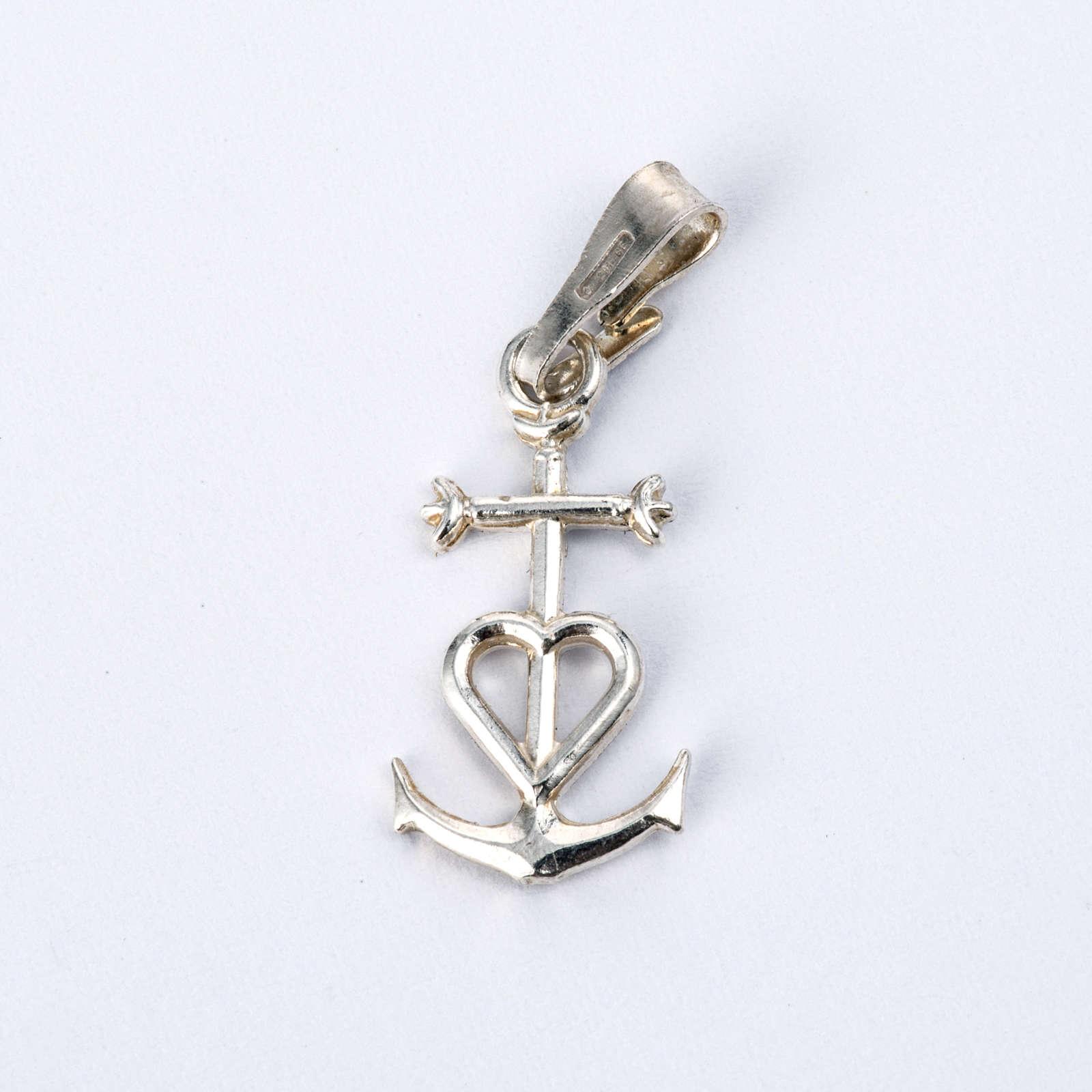 Zawieszka wiara nadzieja miłość srebro 925 4