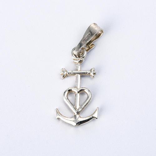 Zawieszka wiara nadzieja miłość srebro 925 1