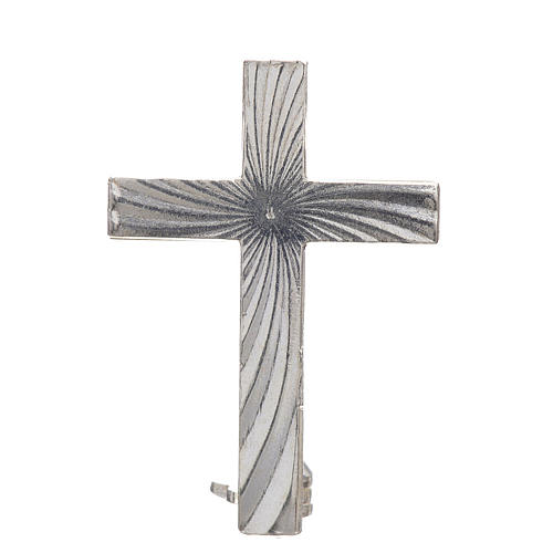 Cruz broche Clergyman plata 925 1