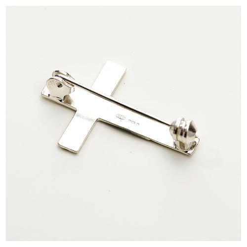 Croix clergé argent 925 2