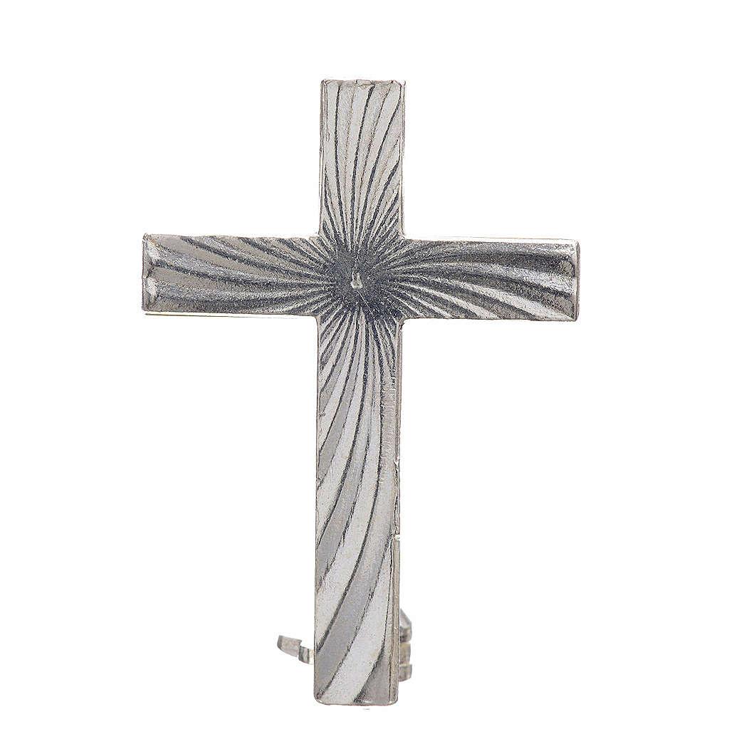 Cross brooch, clergyman in 800 silver 4