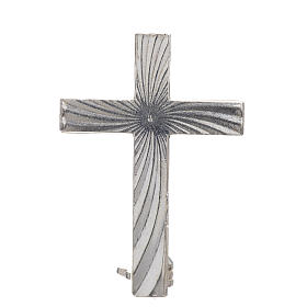 Cross brooch, clergyman in 800 silver s1
