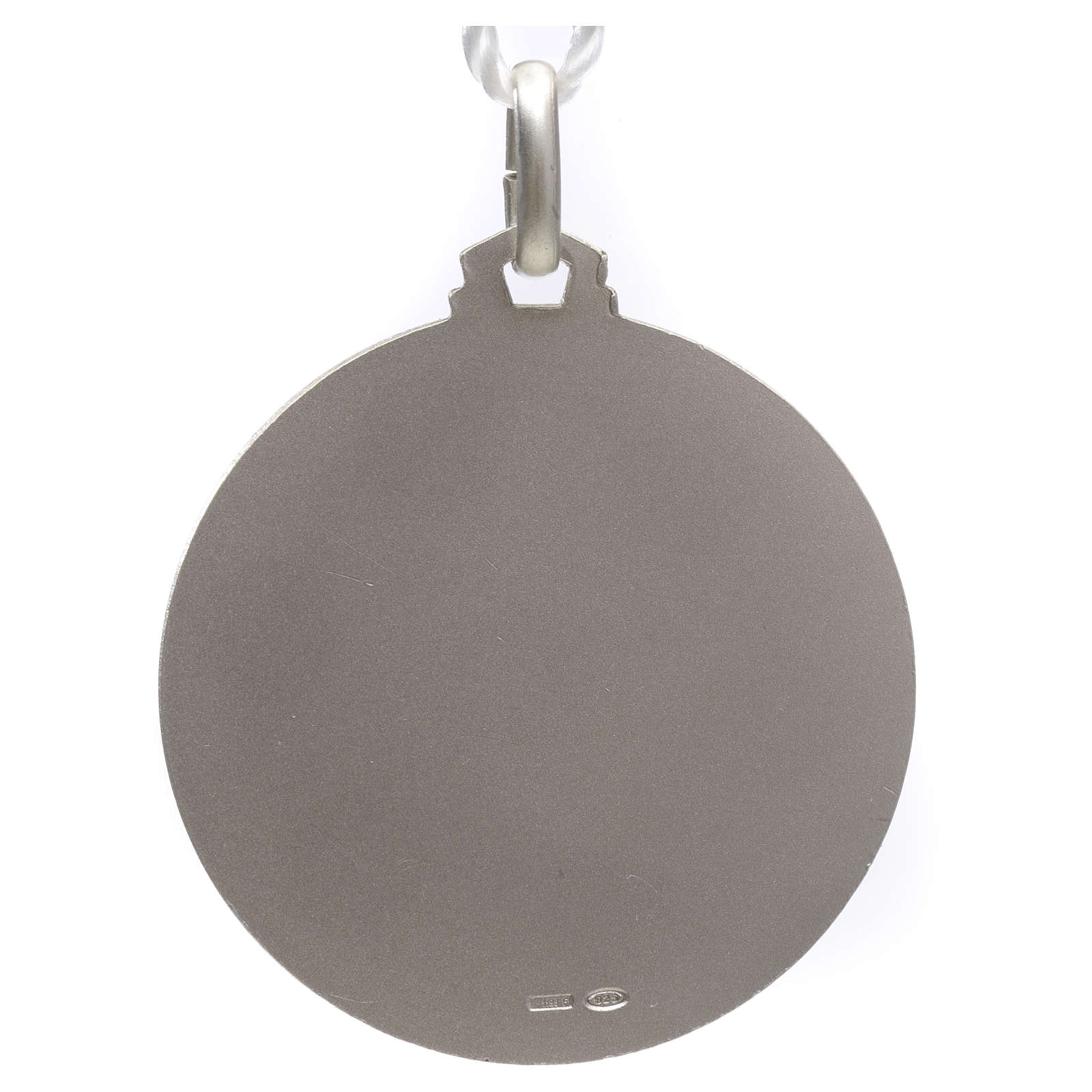 Pope Francis medal in silver 925 4