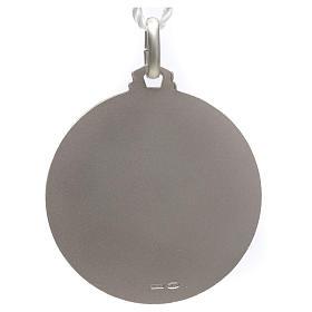 Médaille Pape François argent 925 s2
