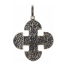 Cruz románica de derivación griega plata 925 s2