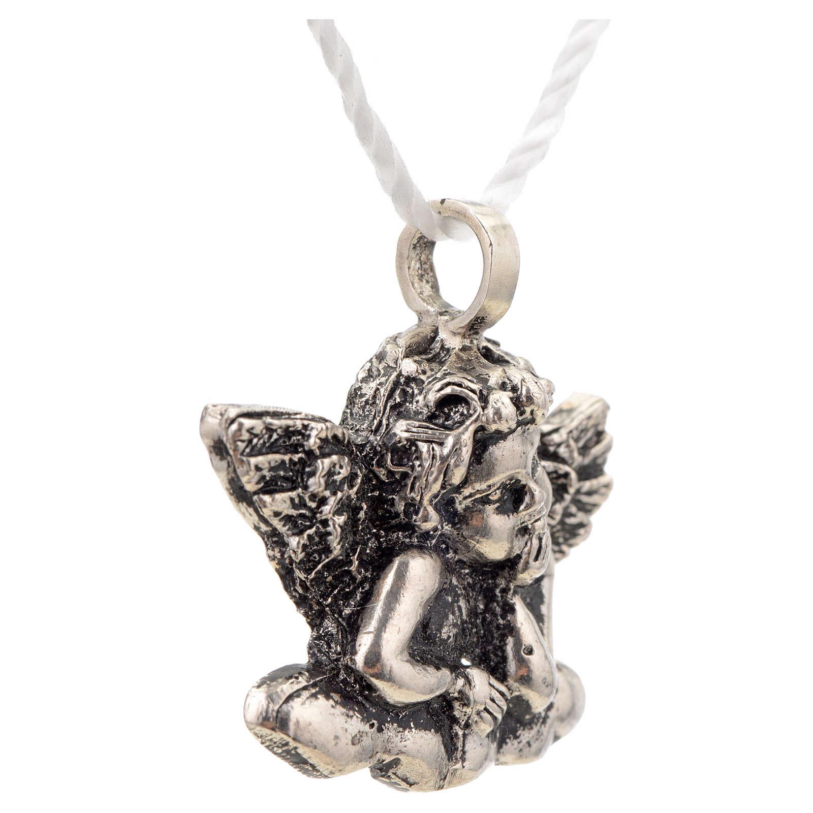 Colgante Angelito plata 925 4