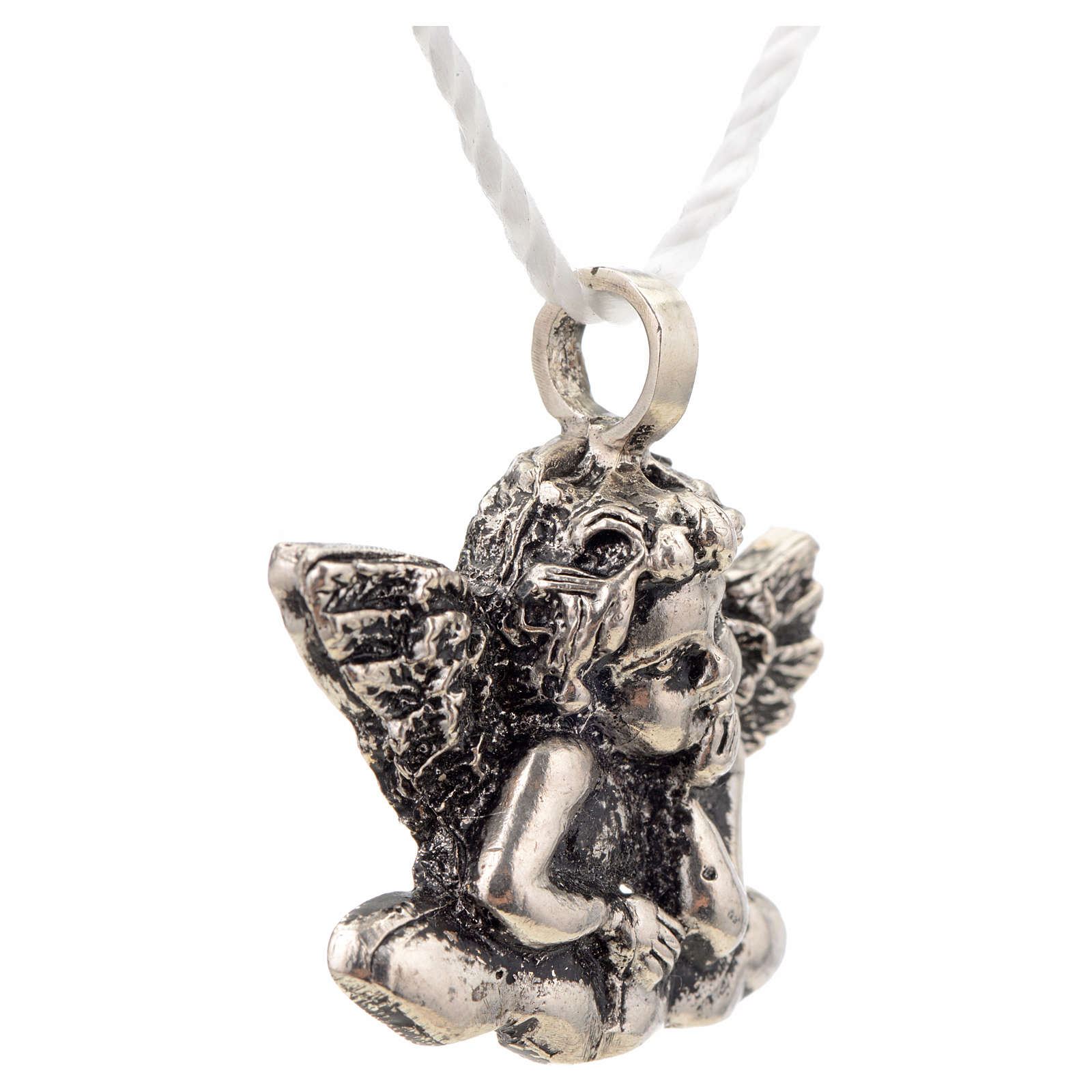 Pendant Angel in sterling silver 4