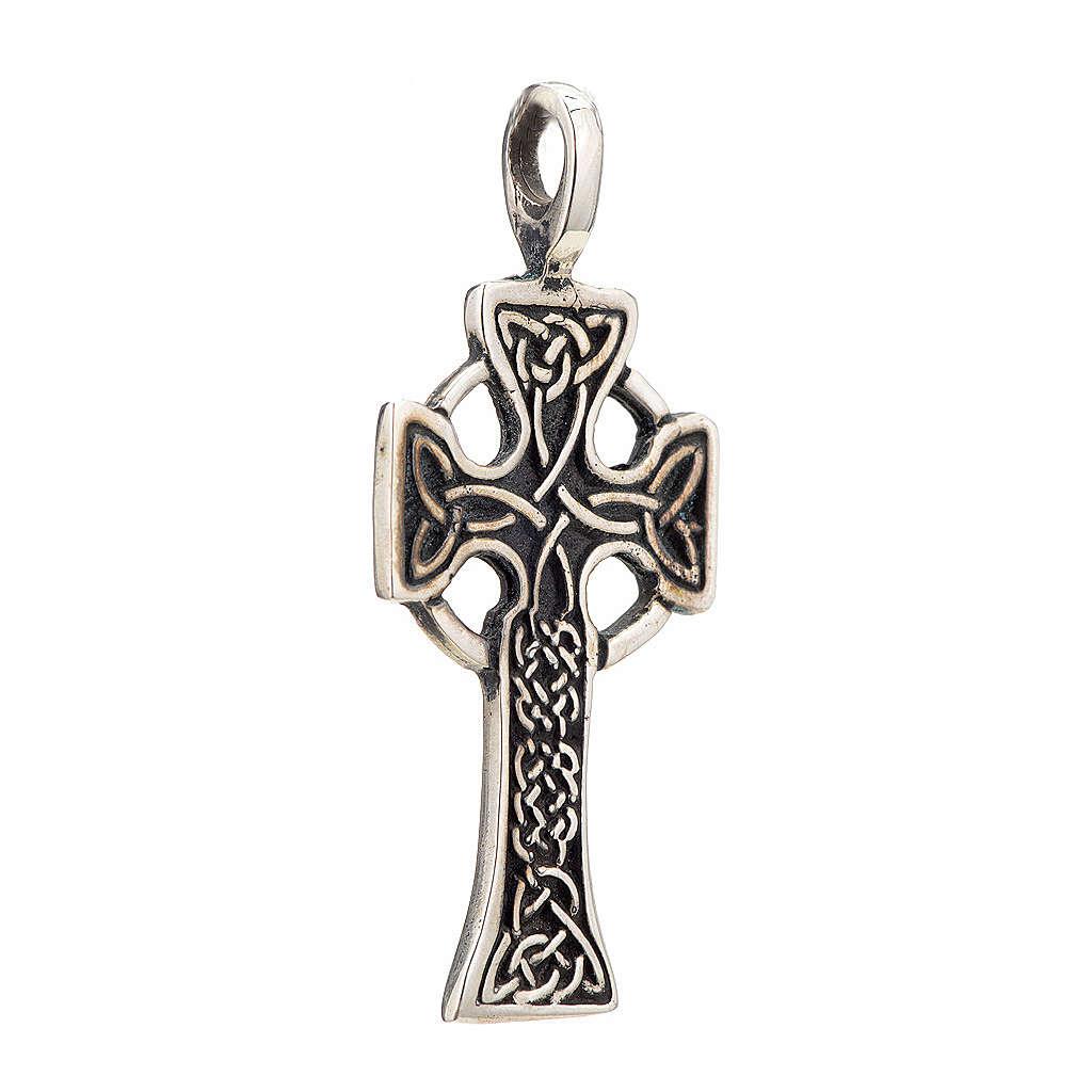 Croix celtique en argent 925 4