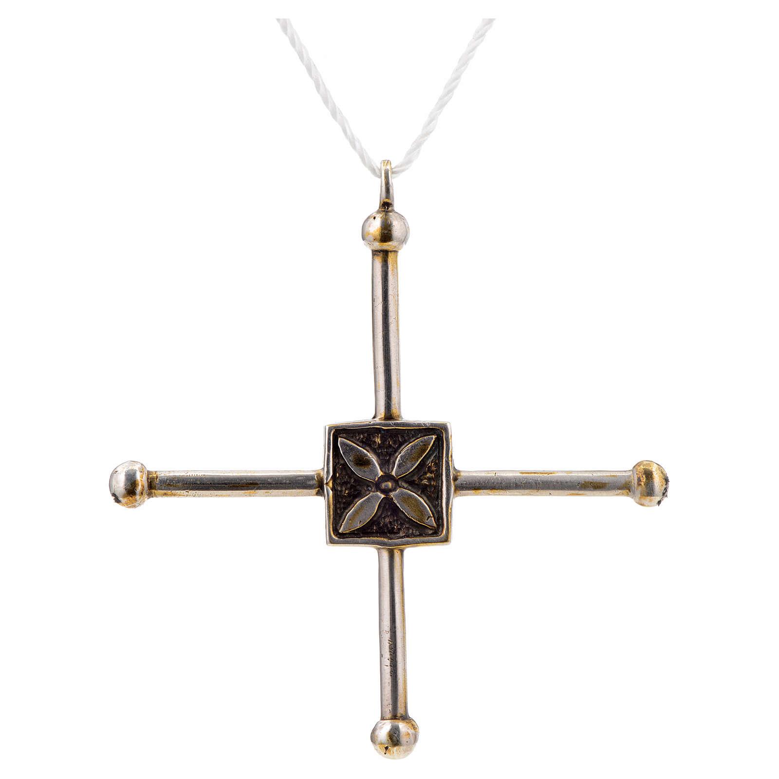 Croce di San Geminiano 7,2x6,6 cm argento 925 4
