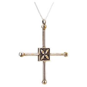 Croce di San Geminiano 7,2x6,6 cm argento 925 s4
