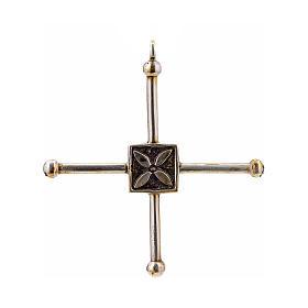 Croce di San Geminiano 7,2x6,6 cm argento 925 s1