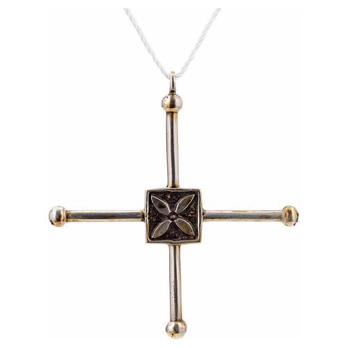 Croce di San Geminiano 7,2x6,6 cm argento 925 3