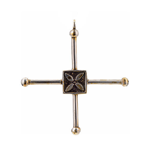 Croce di San Geminiano 7,2x6,6 cm argento 925 1