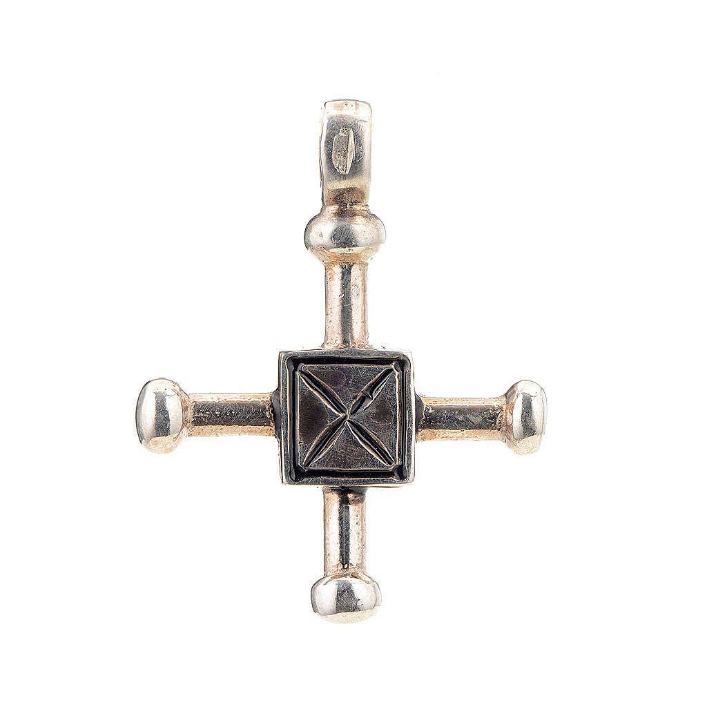 Cruz de San Geminiano 2,7x2,2 cm plata 925 4