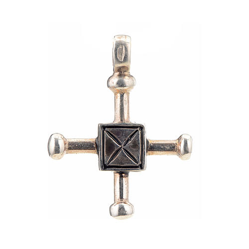 Cruz de San Geminiano 2,7x2,2 cm plata 925 1