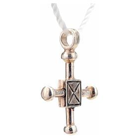Croce di San Geminiano 2,7x2,2 cm argento 925 s4