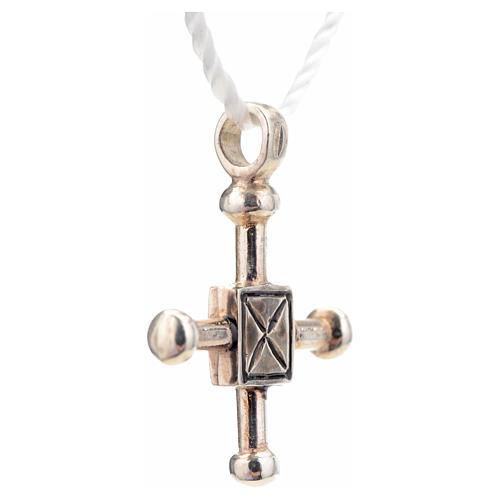 Croce di San Geminiano 2,7x2,2 cm argento 925 4