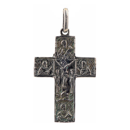 Cruz eslava en plata 925 acabado plateado 1