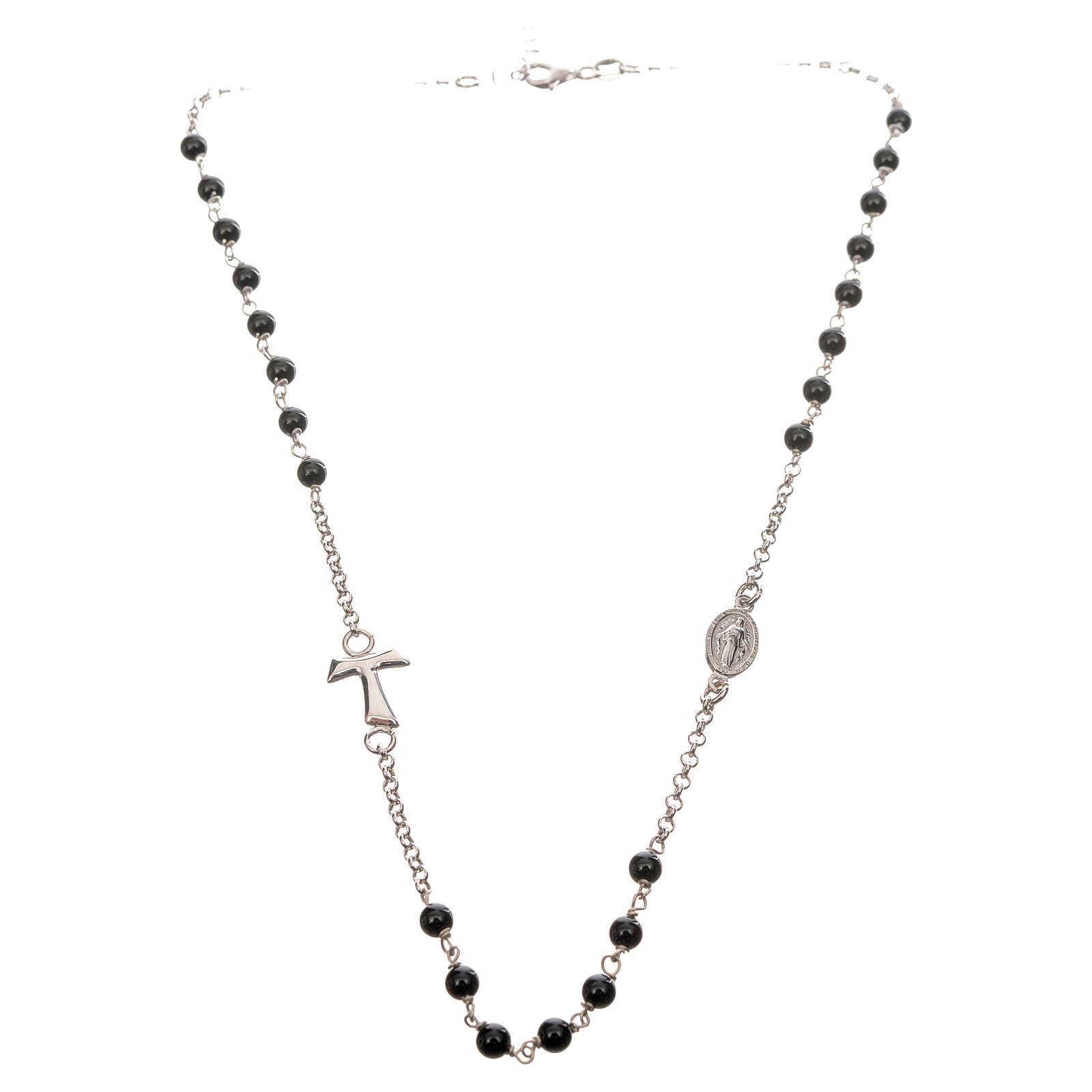 Ras du cou MATER perles chaîne argent 925 4