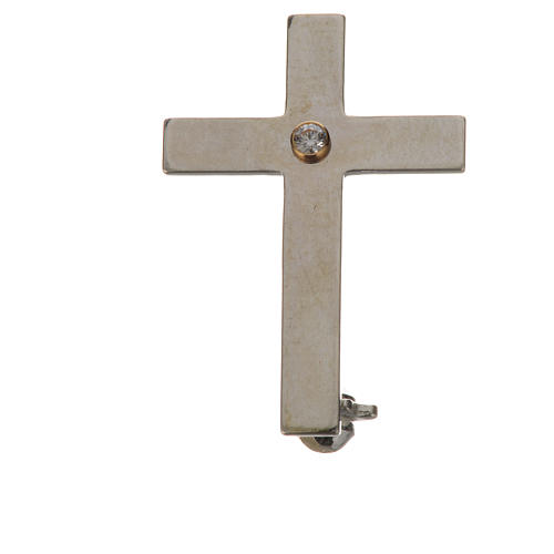 Spilla clergy argento 800 1