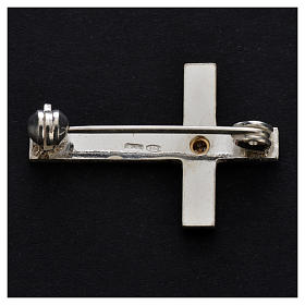 Clergy brooch in 800 silver s3