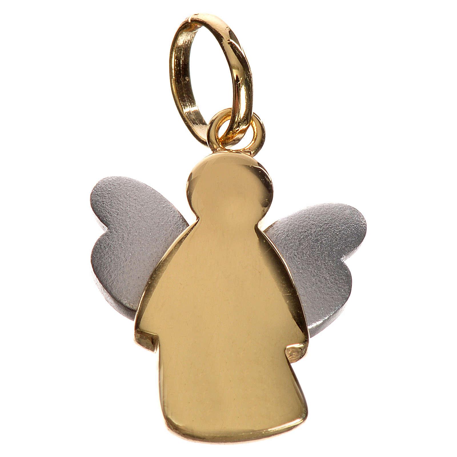 Ange pendentif en or - 1,98gr 4