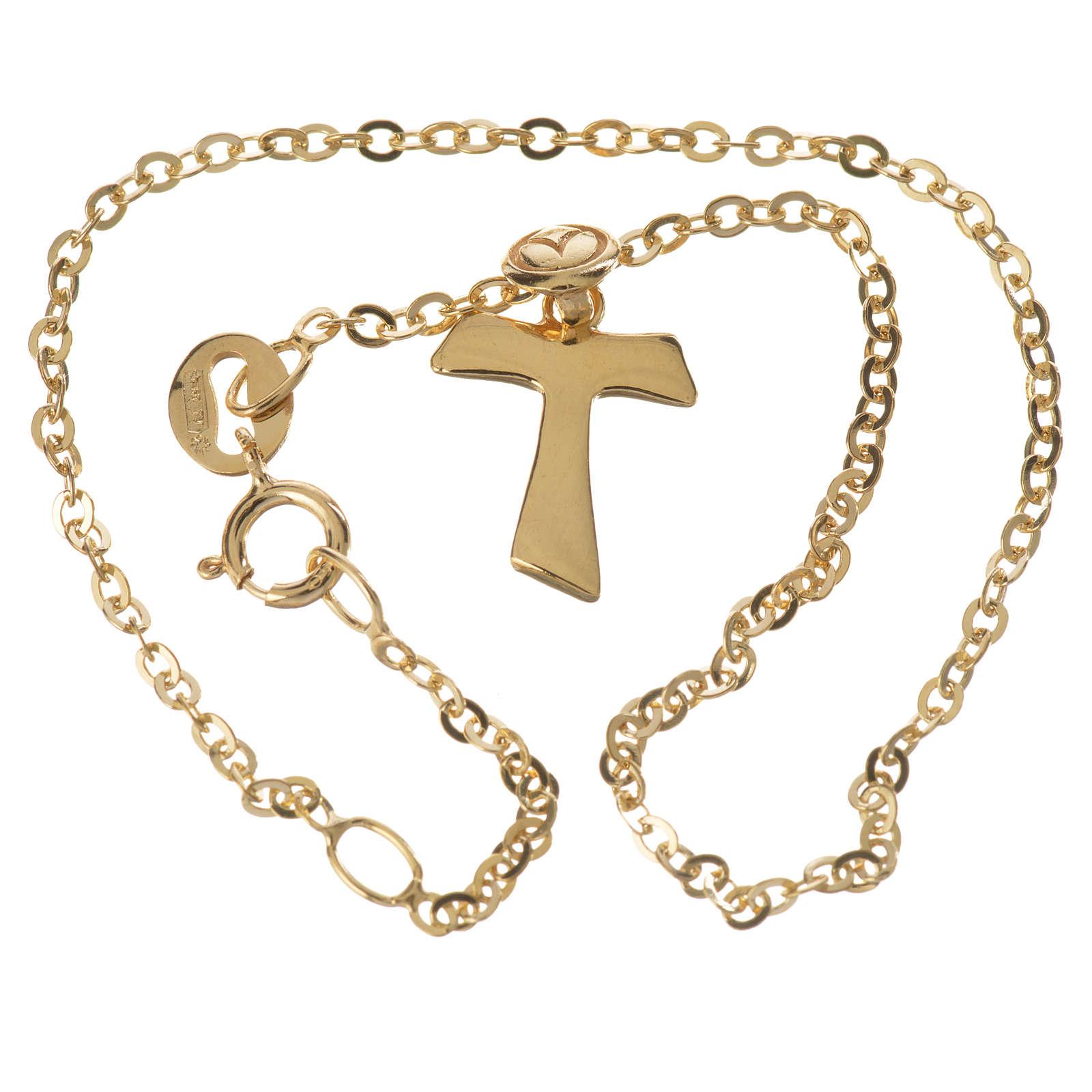 Bracelet avec tau en or 750/00 - 1,09 g 4