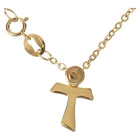Bracelet avec tau en or 750/00 - 1,09 g s1