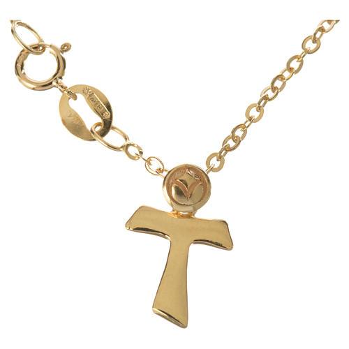 Braccialetto con Tau in oro 750/00 - gr. 1,09 1